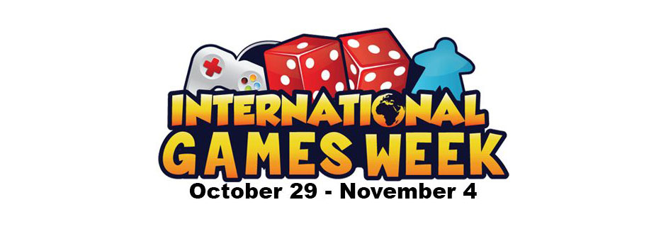International Games Week at Ipswich County Library