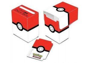 Pokemon: Red/White Poke-Ball Deck Box