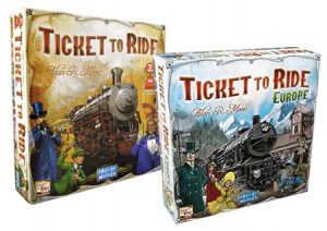 Ticket To Ride Euro Beginners Bundle