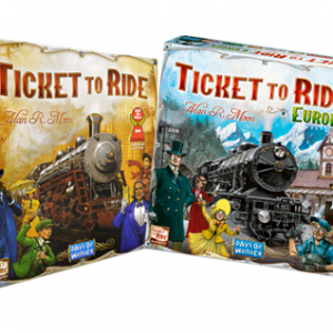 Ticket To Ride & Ticket To Ride: Europe Bundle