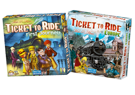 Ticket to Ride Family Bundle