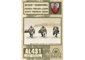 Desert Scorpions Heavy Engineer Squad