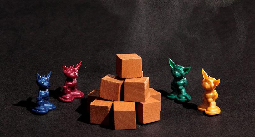 Dungeon Petz Review - Miniatures