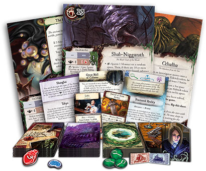 Eldritch Horror Components