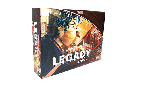 Pandemic Games - Legacy Red