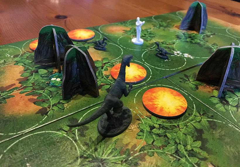 Raptor Board Game - Dinosaur Miniatures