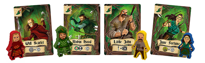 Robin Hood and the Merry Men - Characters