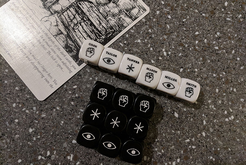 Escape the Dark Castle - Dice