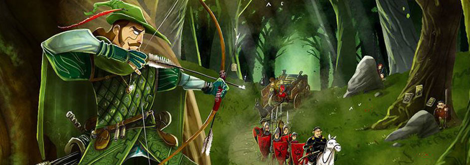 Robin Hood and the Merry Men - New to Kickstarter