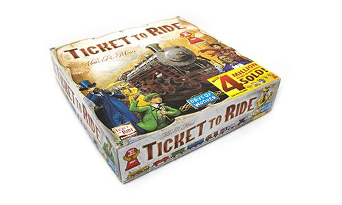 Ticket to Ride Games - Base Game
