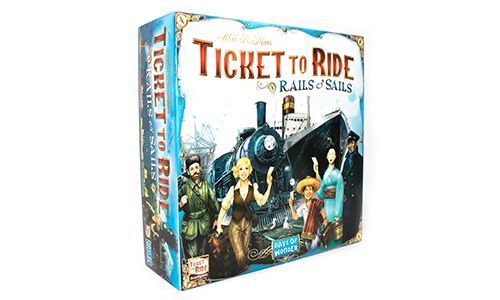 Ticket to Ride Games - Rails & Sails