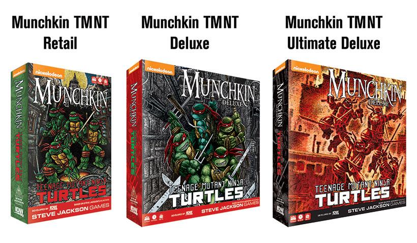 Uno News - Munchkin Ninja Turtles