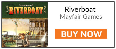 What We've Been Playing - Buy Riverboat Board Game