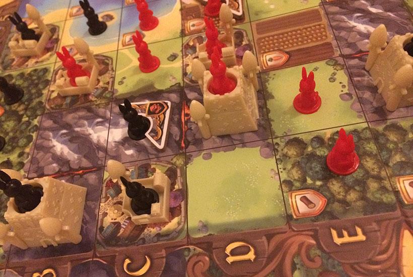 Bunny Kingdom Board Game - Miniatures