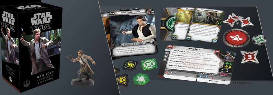 CIA Board Game News - Han Solo Legion