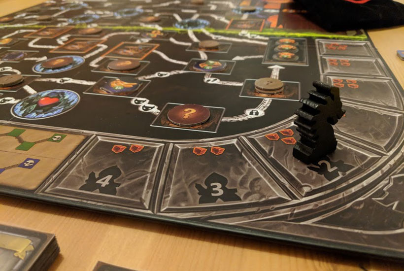 Clank! Review - Game Board