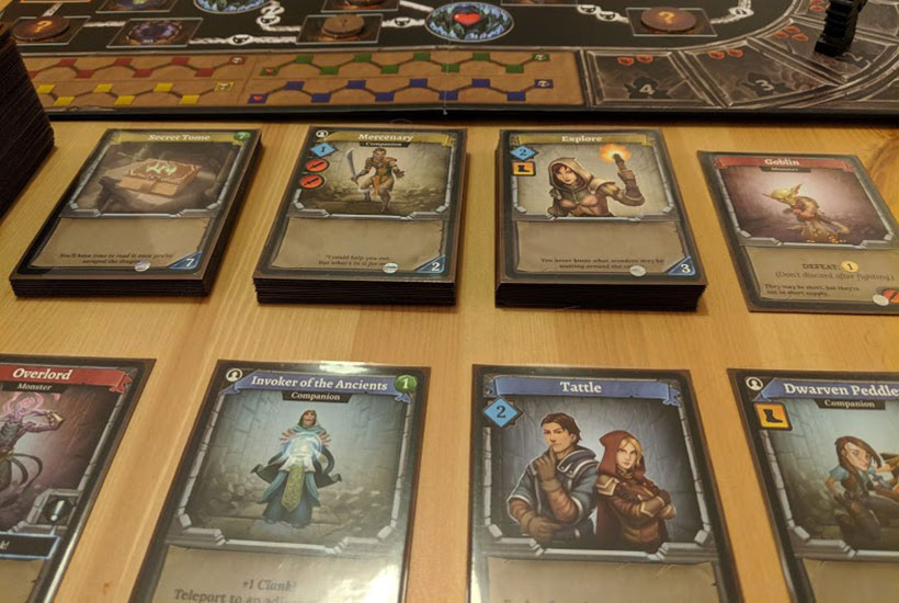 Clank! Review - Dungeon Row
