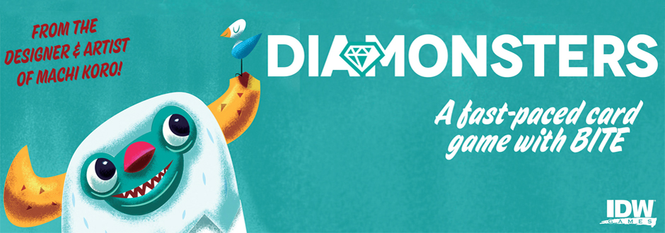 Diamonsters Board Game Review
