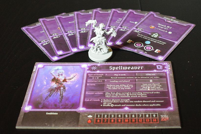 Gloomhaven Review - Spellweaver