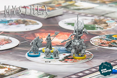 Mysthea Kickstarter - Miniatures