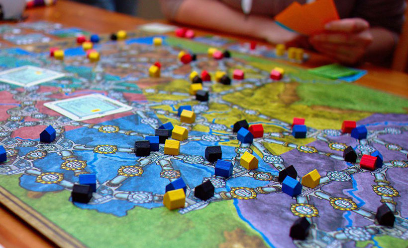 Power Grid Game Board - How to Play
