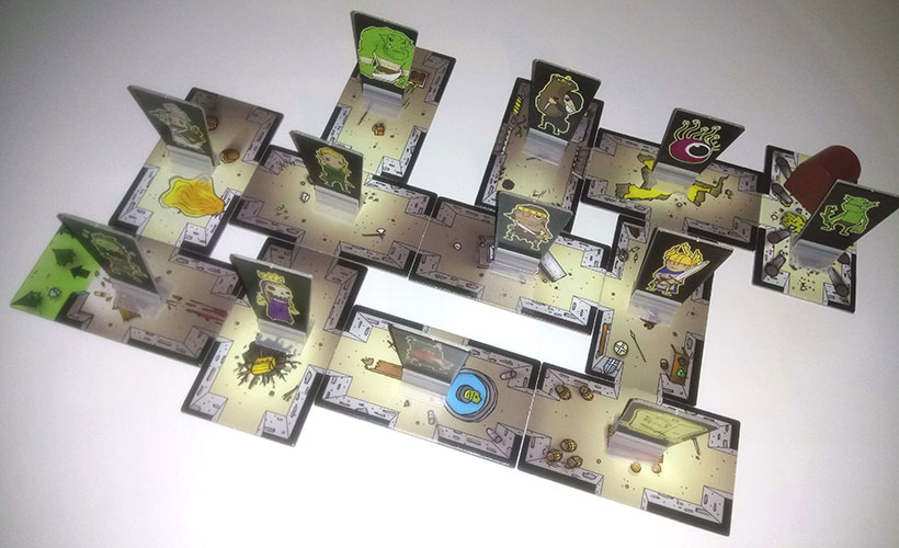 Rumble in the Dungeon -Dungeon Construction