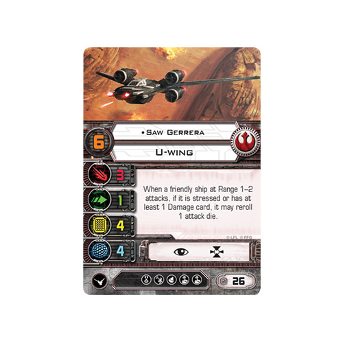 Saw's Renegades Expansion Pack: X-Wing Mini Game