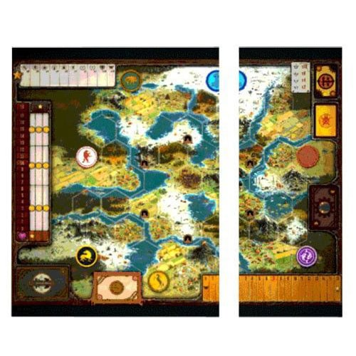 Scythe Game Board Extension