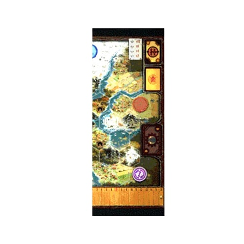 Scythe Game Board Extension - one piece