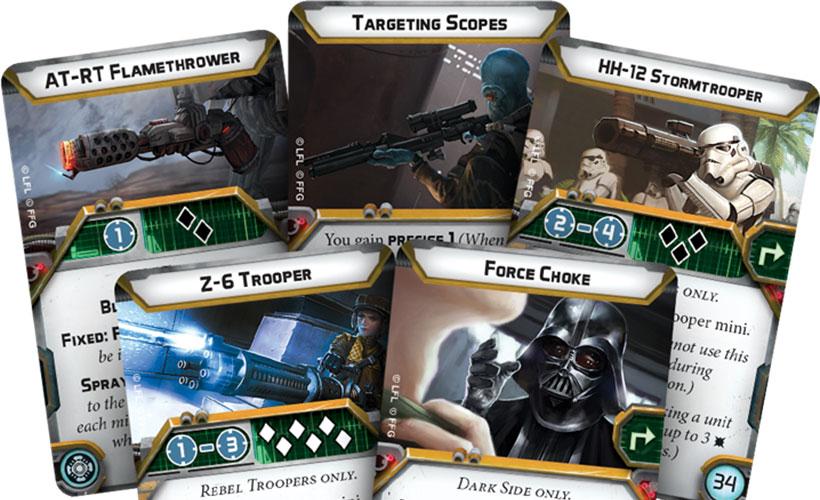 Star Wars Legion Cards