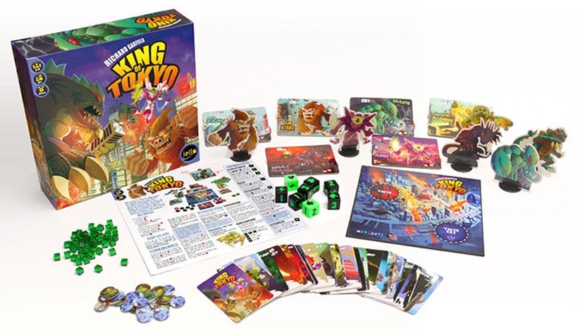 Board Game Mechanics - King of Tokyo