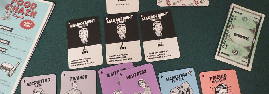Board Game Themes - Food Chain Magnate