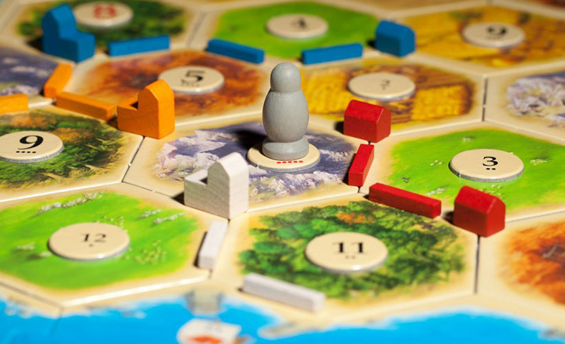 Catan Board Game - components