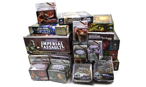 Fantasy Flight Games - Star Wars Collection