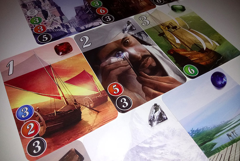 How to Play Splendor - Development Cards