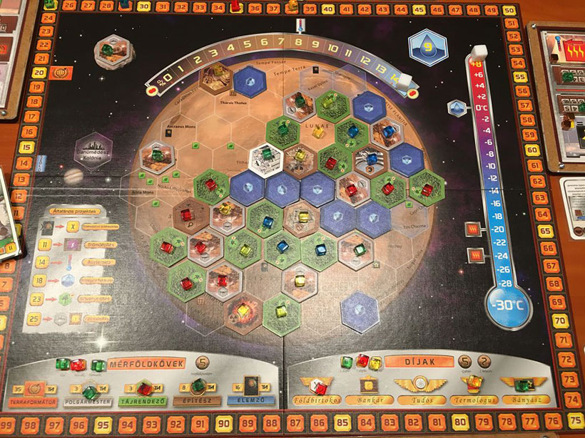 How to Play Terraforming Mars - Game Board