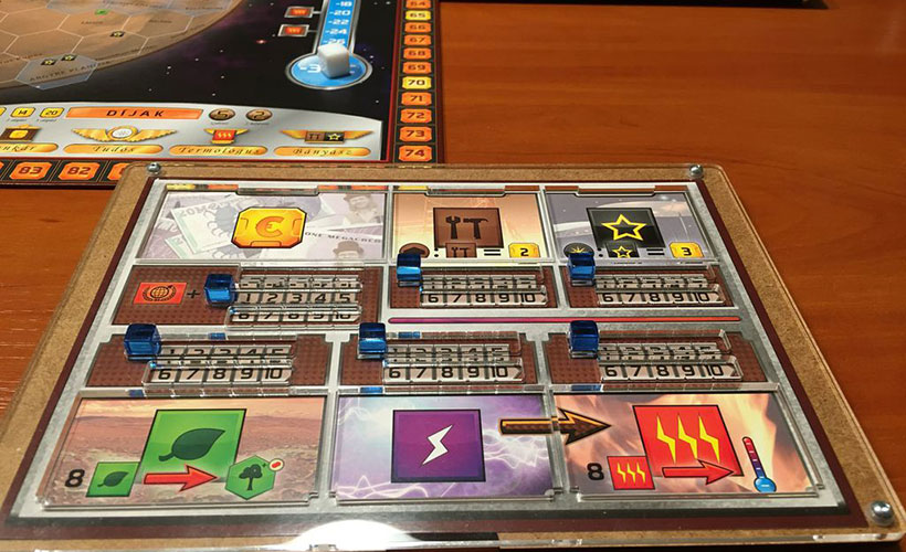 How to Play Terraforming Mars - Player Board