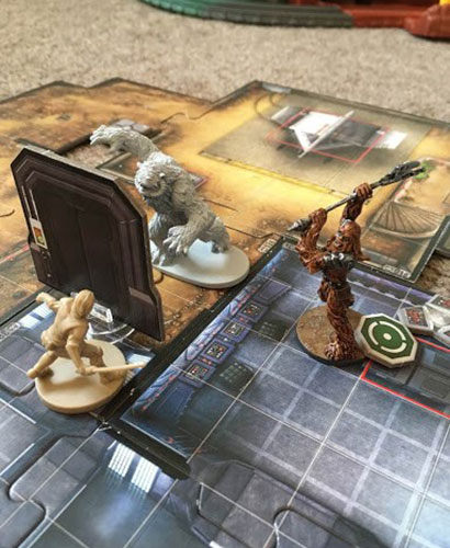 Imperial Assault - Davith and the Wampa