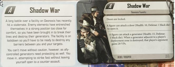 Imperial Assault - Shadow War