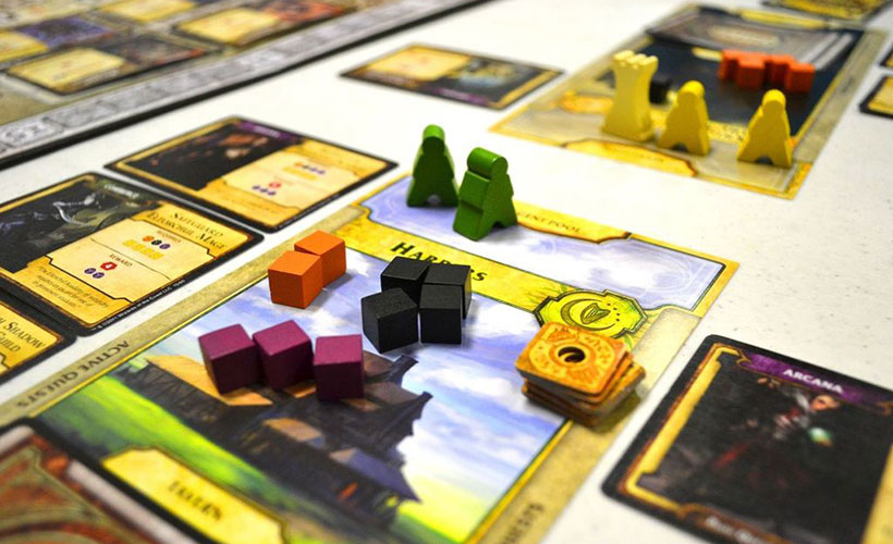 Lords of Waterdeep Review - Player Board