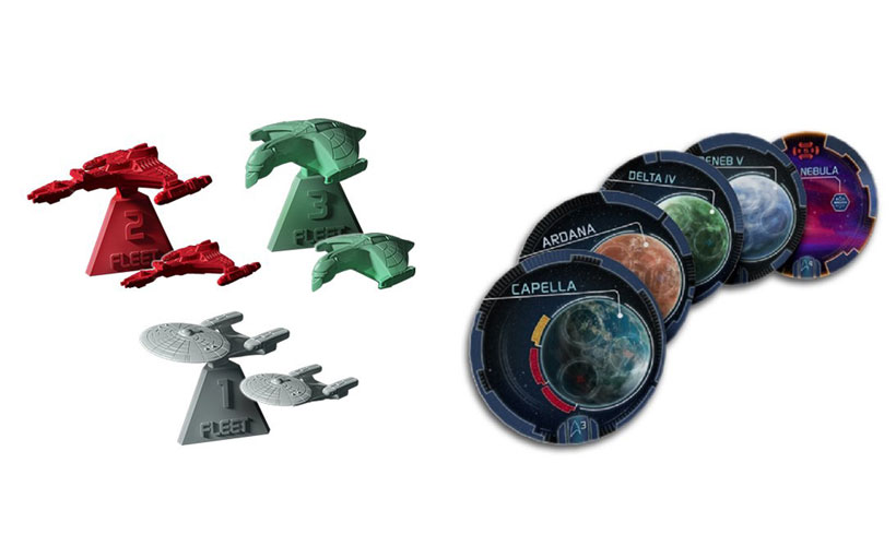Star Trek Ascendancy - Tokens and Figures