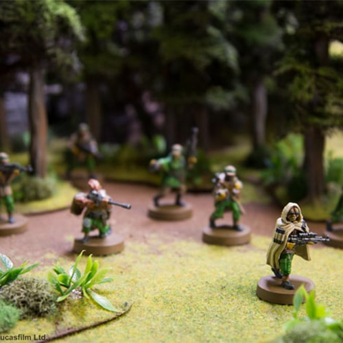 Star Wars- Legion Rebel Commandos Unit Expansion Figurines