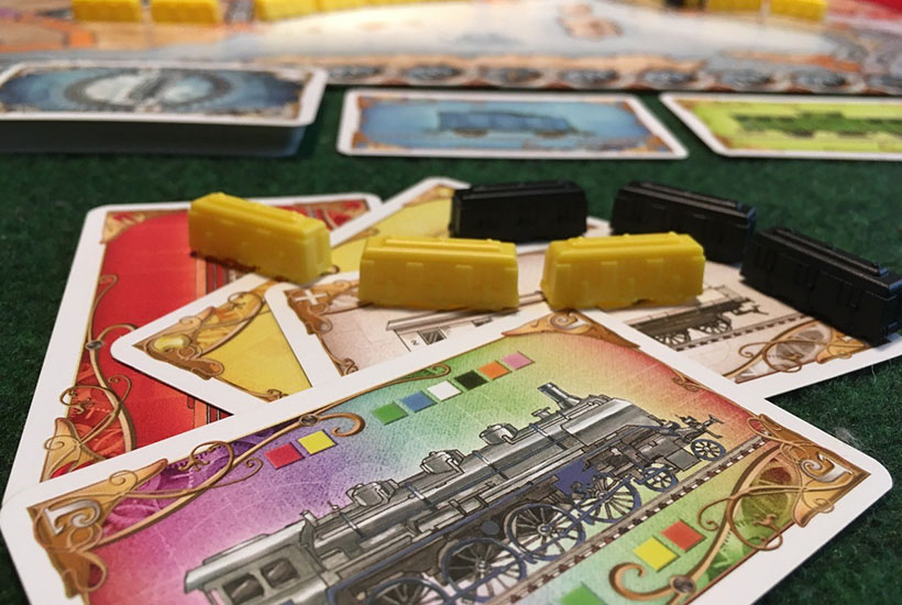 Ticket to Ride Europe - Wild Locomotive