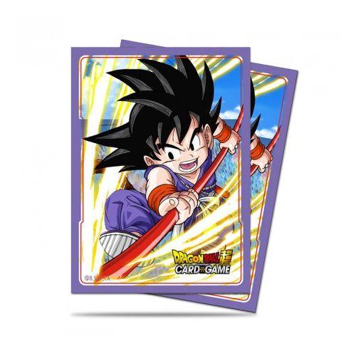 Dragon Ball Sleeves: Explosive Spirit Son Goku (65ct)
