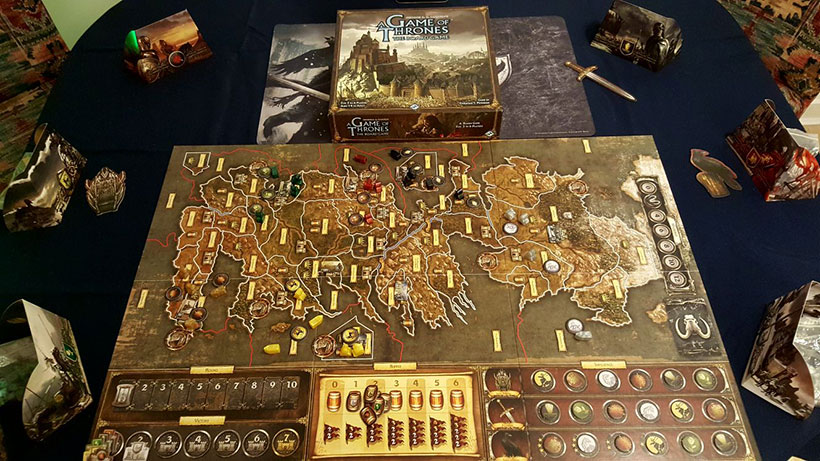 Playing A Game of Thrones: The Board Game (2nd Edition)