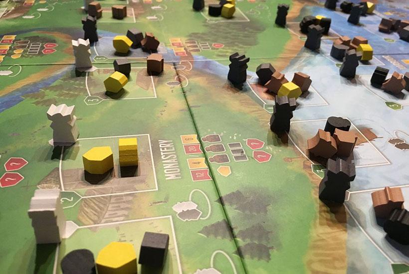 Raiders of the North Sea - Game Board
