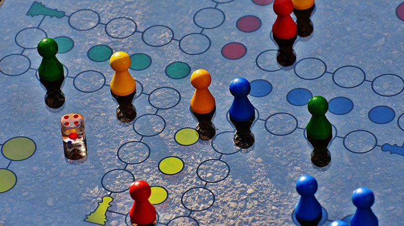 Randomness in Board Games - Ludo Game
