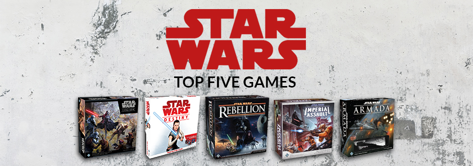Top 5 Star Wars Board and Card Games