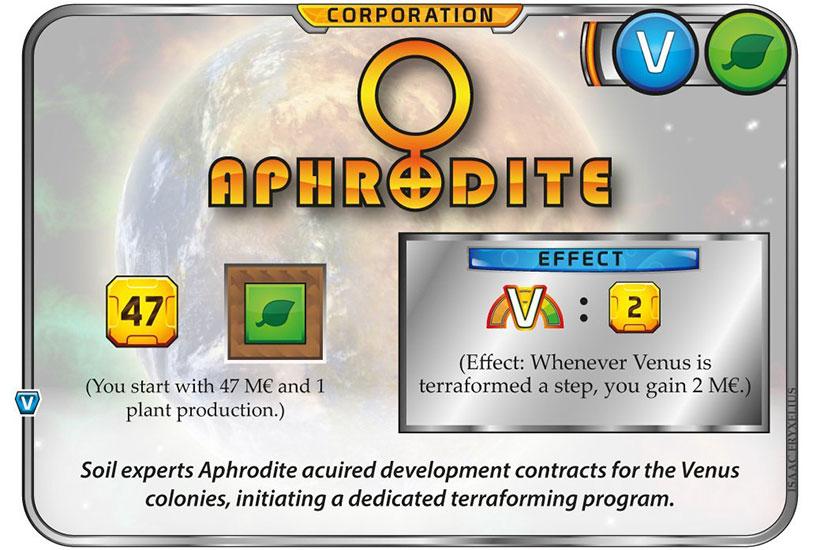 Venus Next Review - Aphrodite Corporation