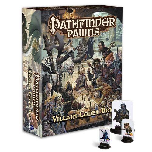 Villain Codex Box: Pathfinder Pawns